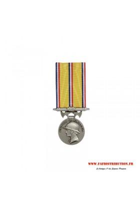 Médaille ancienneté SAPEURS POMPIERS 20 ans