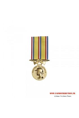 Médaille ancienneté SAPEURS POMPIERS 30 ans