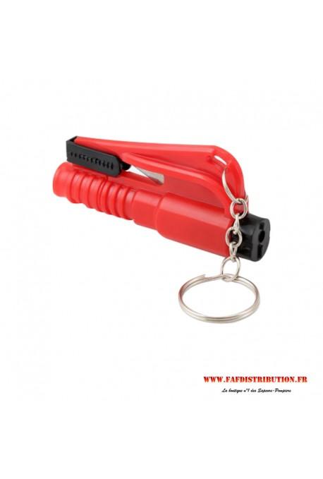 Porte-clés coupe ceinture / brise vitre