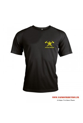 T-shirt sport noir
