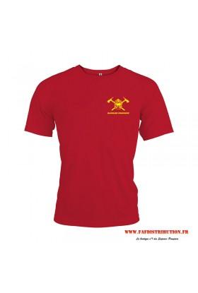 T-shirt sport rouge
