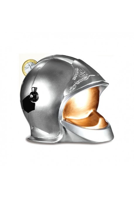 Tirelire casque F1