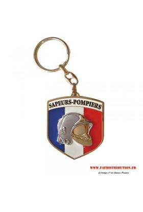 """Porte-clés """"Ecusson Pompier"""""""