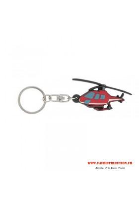 Porte-clés souple HELICOPTERE