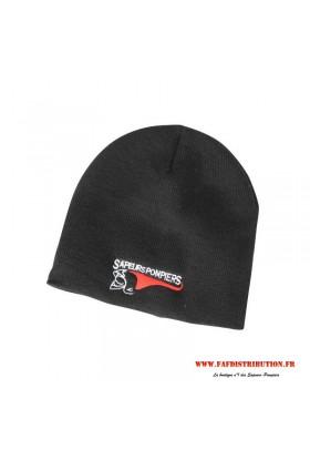 Bonnet doublé poliare brodé casque F1