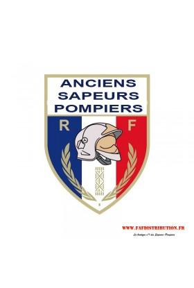 """Autocollant """"Anciens Sapeurs Pompiers"""""""