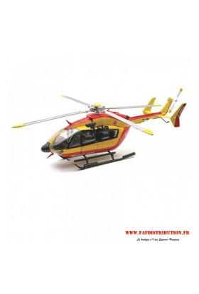 Hélicoptère sécurité civile EC 145 1/100°