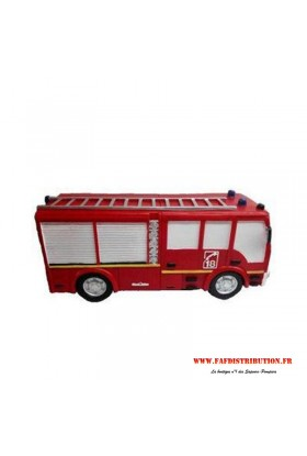 Tirelire Camion de pompier