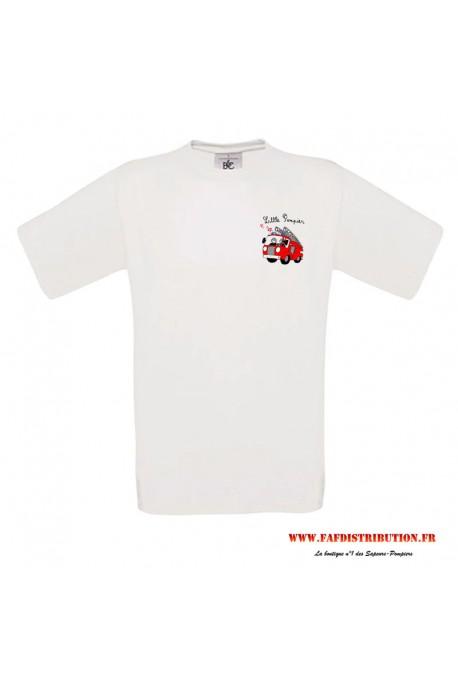 T-shirt Little pompier
