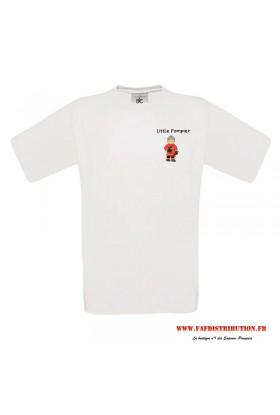 T-shirt Litlle pompier