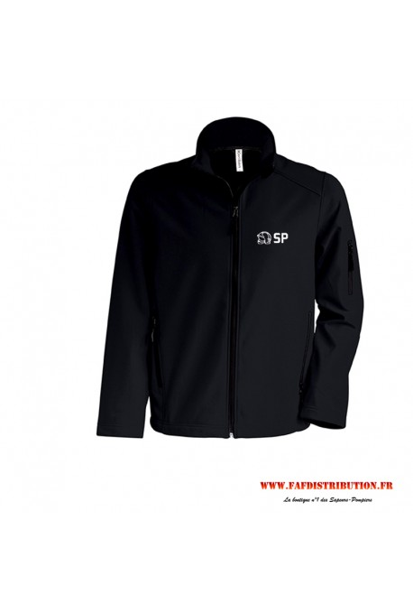 Veste softshell SP noir