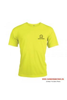 T-Shirt Sport fluo